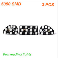 Selling,Classic 2.0L Fox Roof Map Reading Lights LED Retrofit 09-13 Fox Colorful Atmosphere of Lights,Free Shipping