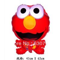 New styles 10pcs/lots wholesales Sesame Street ELMO , cartoon balloon Foil balloon,for a birthday party decorate 45 x 62 CM