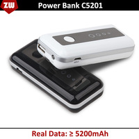 Free Shipping 5200MAH power bank, portable mobile power bank, external battery STD C5201, backup battery, portable charger