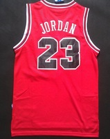 2013 Hot Selling Chicago Michael Jordan 23# Vintage Red Material Basketball jersey Free Shipping,Retail& Wholesales