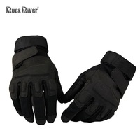 autumn winter tactical gloves outdoor sports Men cut-resistant non-slip ride black camping & hiking hunting military paintball