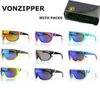 Wholesale VON ZIPPER SPACEGLAZE BIONACLE Sunglasses Men Sport Cycling VZ sunglass with Original Boxes Free Shipping