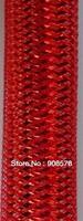 Tubular Crin polyester tube  Real & Red Metallic 16mm 60 yards/lot