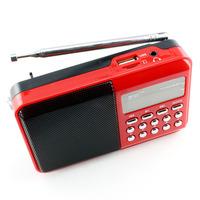 P-336 digital small audio card radio tf card usb flash drive speaker