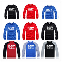 High Quality Men's Clothing Boy London Sweatshirt Hip Hop Crewneck Winter Cotton Pullover Free Shipping