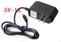 DC 5V 1A charger ,5W power adapter,US plug or EU plug,100pcs/lot