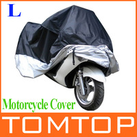 Motorcycle Bike Moped Scooter Cover Dustproof Waterproof Rain UV resistant Dust Prevention Covering Size L 220*95*110cm