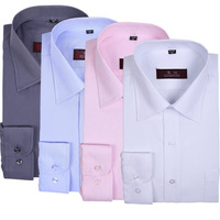 2013 spring and autumn new men's long-sleeved business shirt