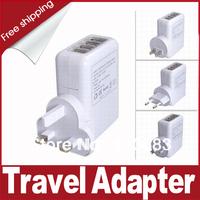 Free shipping New European Standard Plug Socket Adapter- White