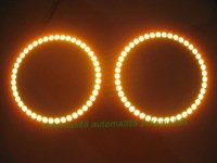 2pcs RGB 100mm full ring uper super bright, Multi-Color SMD Angel Eyes Kit with Remote control