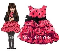 2013 Autumn Hot selling NWT girls two colour evening dress