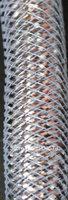 Silver Metallic Tubular Crin  Cyberlox Stretch Tubing  for Hair Accessories 16mm 60 yard
