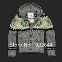 Brand New Men's Sweater Cardigans Knitwear Casual Sweater hoodies sweaters  S,M,L,XL