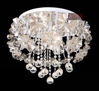Free shipping Crepitations brief crystal lamp restaurant lamp bedroom lamp ceiling light lighting crystal ceiling light