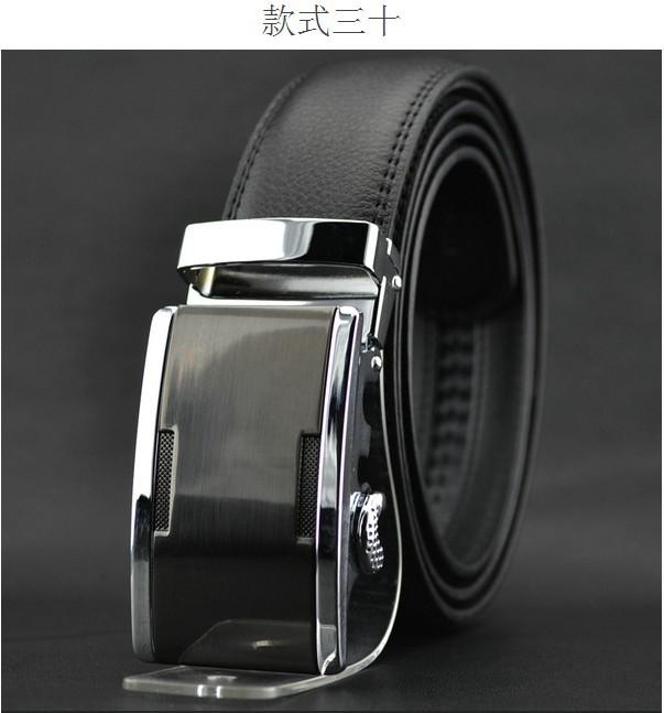 2014 world Classic fashion Design Men's Belt Automatic buckle leather belt men's leather strap explosion models PD2501(China (Mainland))