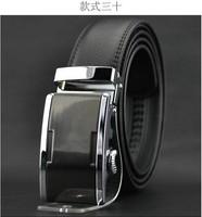 2014 world Classic fashion Design Men's Belt Automatic buckle leather belt men's leather strap explosion models PD2501
