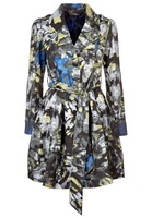 New Desigual Women Coat Fashion Over Coat slim spring autumn