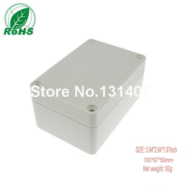 XDP04-18 free shipping small plastic box plastic distribution enclosures 100*68*50mm(China (Mainland))