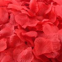 Free Shipping 1200pcs/lot Slik Red Rose Petals Wedding Table Decorations/Wedding Flower/Garden Supplies/Romantic