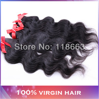 Grade 4A Peruvian Virgin Hair weaving extensions Body Wave 3pcs Lot No shedding No tangle Luffy hair queen hair products