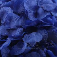 Free Shipping 1200pcs/lot Royal Blue Rose Petals Wedding Table Decorations/Wedding Flower/Garden Supplies/Romantic