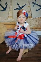 Princess Petti Tutu,girls tutu skirt , baby tutu ,Blue white Toddler tutu skirt , Photography prop MOQ 1 pc