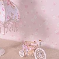 Tapete papel de parede rolls Small Pink wall paper small petals rustic wallpaper roll