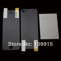 Free Shipping For iPhone 5 5G Anti Glare Matte Full Body Films Front+Back Screen Protector Guard DC1047