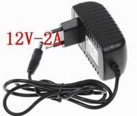 DC 12V 2A charger ,24W power adapter,US plug or EU plug,100pcs/lot