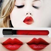 New Arrival Waterproof Elegant Red Color Lipgloss matte smooth liquid velet  lipstick  Long Lasting Lip Makeup HK POST Free Ship
