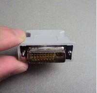 15pcs/lots DVI 24+5 male to VGA 15pin female adapter Free shipping