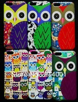 free shipping New arrivals High quality Fashion Lovely Animal Cartoon Lovely Cute Owl Pattern Hard Case for iphone 5c