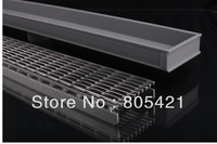 2 X 830mm Linear drains  one is PVC tray and the other  is SS tray