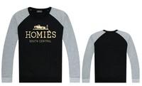 Fashion Homies Sweatshirt For Men Hip Hop Pullover Winter Cotton Crewneck Cheap Men Clothes Free Shipping