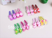 Free Shipping cute resin cartoon hairclips Hairpins barrettes for baby hair accessories BB haircliips best quatity new arrival