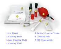 Free Shipping+Tracking Number New Arrival 1Set 7in1 Camera Cleaning Kit for Lens, Screens, Computers