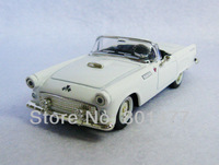 1955 Ford Thunderbird White Vintage Car Model 1:43 Scale Die cast Loose New SC3,free shipping