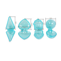 New 4PCS/Set Cake Pop Mold Maker Candy Lollipop Mould Cupcake Heart Ball Cone