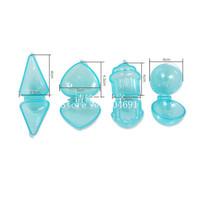 New 4PCS/Set Cake Pop Mold Maker Candy Lollipop Mould Cupcake Heart Ball Cone