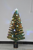 90cm Christmas decoration christmas tree colorful lights led going rose accessories fiber optic Fiber Optic