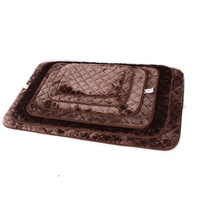 Pet plush cushion dog kennel8 cat litter teddy dog bed cat bed wellsore mat autumn and winter