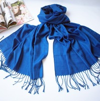 Free shipping!high quality spring and autumn scarves for women 2013 fashionable pure color scarf with tassels wholesale A1001