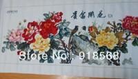 Free Shipping Fine art handicraft stitch Blossoming Hot Selling