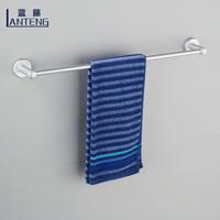 Blue rattan space aluminum bathroom towel bar towel rack towel rack thickening base bathroom accessories set