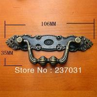 Domestic outfit metal archaize handle/cupboard door shake handshandle of antique/drawer handle/wooden handle