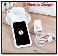 Qi Wireless Charger Universal for Nokia Lumia 920 820 LG Nexus 4 5 Samsung Iphone Retail Box USB Port EU/US Power Adapter K8