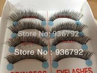 10 pairs New 2013  Makeup  Handmade corss Thick long  False Eyelashes  Eye Lashes Voluminous  free shipping, x15#