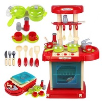 Free Shipping 2013 New Arrival Children Classic Pretend Play Kitchen Set Toys Educational Cheap Wholesale On Sale