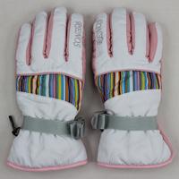 Outside sport hiking ski gloves thermal windproof slip-resistant thermal wear-resistant ride full finger gloves
