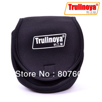 Trulinoya Fishing Spinning Reel Cover Spin Reels Case Black 2 pcs/Lot Three Size for Choose